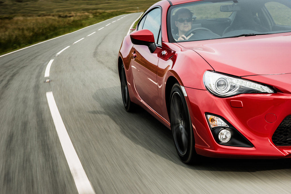 Toyota GT86, Wales